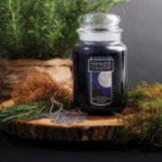 midsummers night large jar candle on wood image number 1