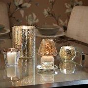 Kensington - Silberpatina auf Crackle Glas image number 1