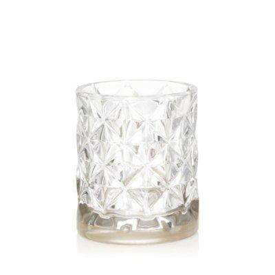 Langham - Banda metallica e vetro sfaccettato