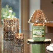 Kensington - Silberpatina auf Crackle-Glas image number 2