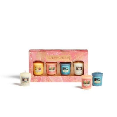 Confezione regalo con 4 candele sampler