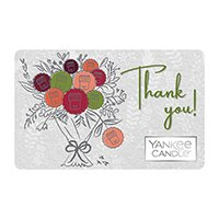 yankee candle thank you gift card design