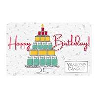yankee candle happy birthday gift card design