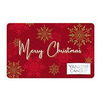 yankee candle merry christmas gift card design