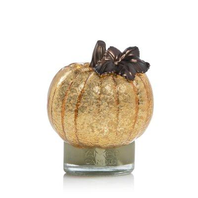 Crackle Pumpkin with Light
