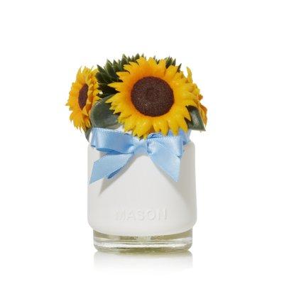 Fall Sunflowers with Light Sensor