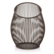 iron candle jar holder image number 0
