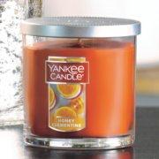 Large jar candle honey clementine image number 1