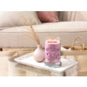 wild orchid signature large 2 wick tumbler on table image number 3
