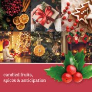 christmas eve red candles banner image number 1