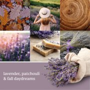 dried lavender and oak  candles banner image number 2