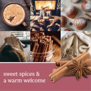 home sweet home pink candles banner image number 1