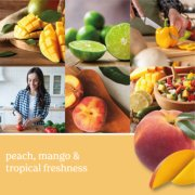 mango peach salsa candle image number 1