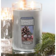 Large jar candle balsam and clove image number 1