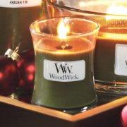 frasier fir medium jar candle on tray image number 2