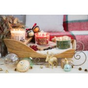 scented 3 wick candles on chariot image number 2