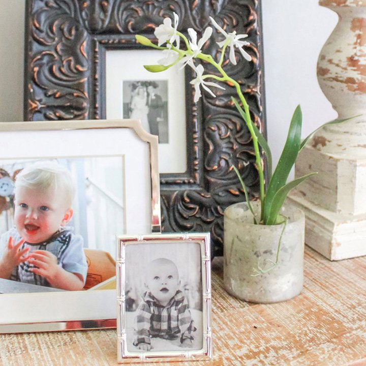 vintage photos and orchid